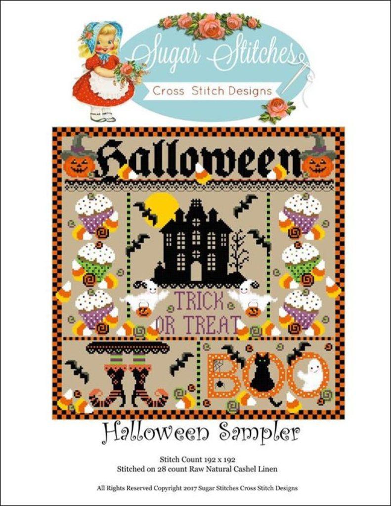 HALLOWEEN SAMPLER Stitch Pattern by Sugar Stitches