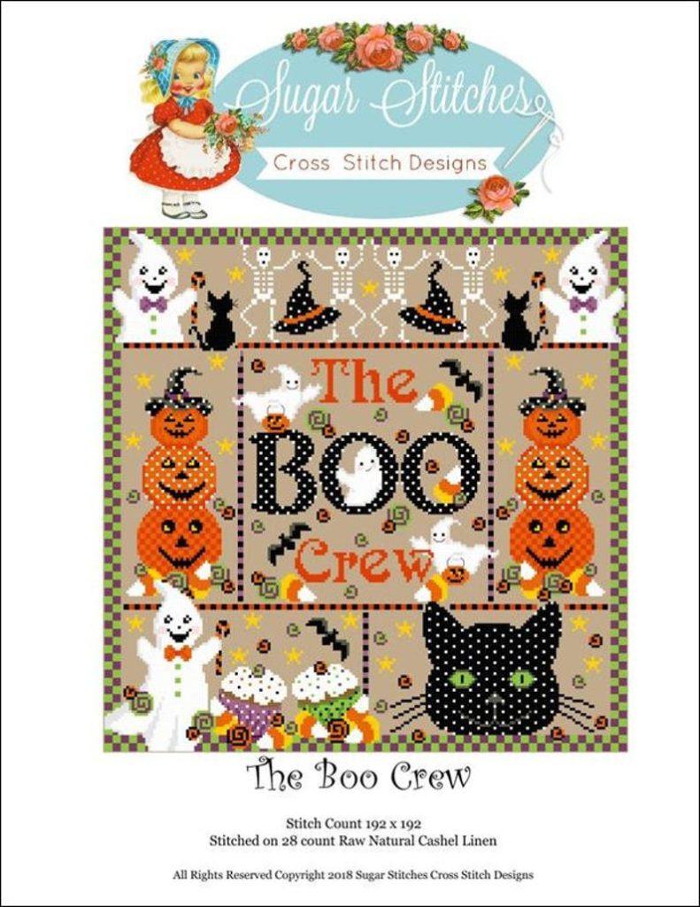 THE BOO CREW Stitch Pattern by Sugar Stitches
