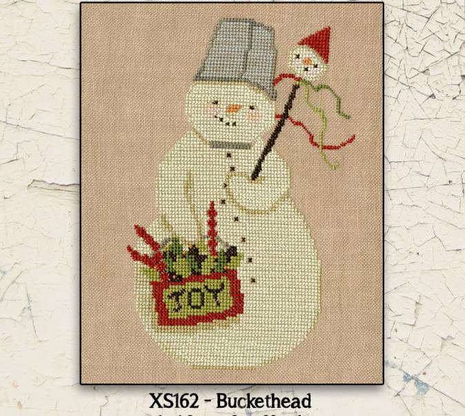 Teresa Kogut Buckethead Cross Stitch Pattern