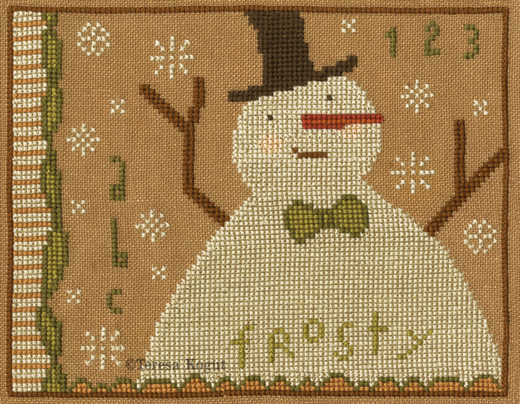Teresa Kogut FROSTY Cross Stitch Pattern