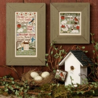 The Prairie Schooler SPRING HAS COME Cross Stitch Pattern