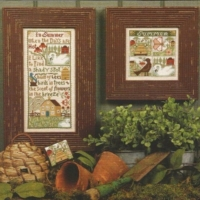 Summer Breeze Cross Stitch Pattern by Plum Street Samplers