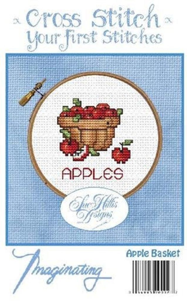 APPLE BASKET Cross Stitch Kit by Imaginating