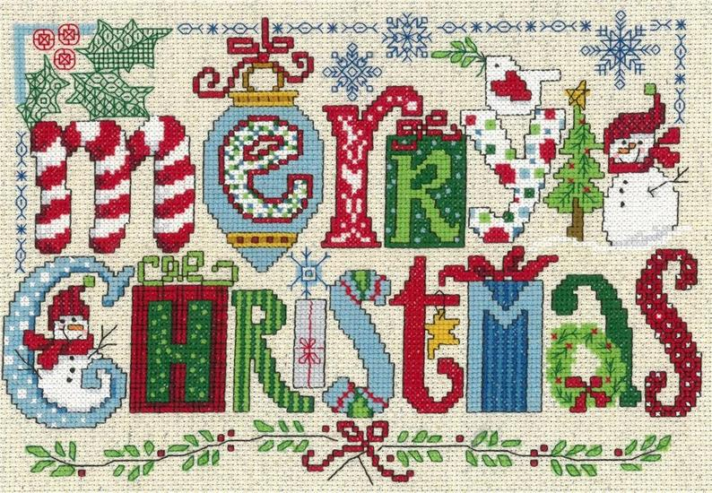 CHRISTMAS FAVORITES Cross Stitch Kit by Imaginating