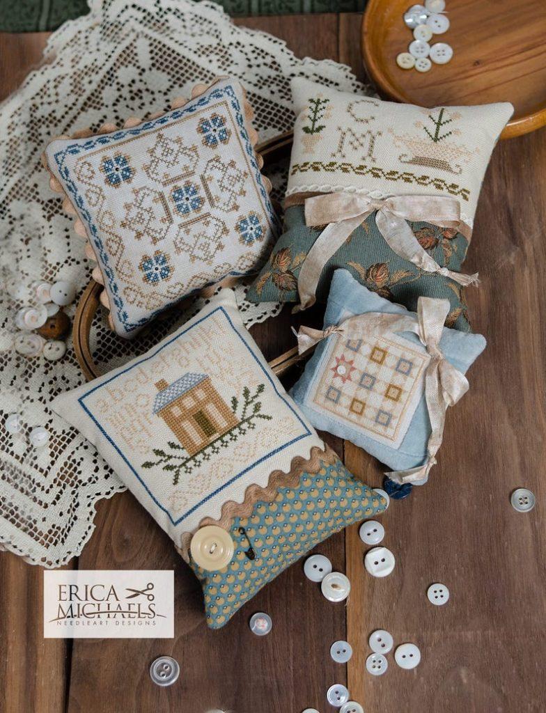 Erica Michaels CHARLOTTE'S SMALLS Cross Stitch Pattern