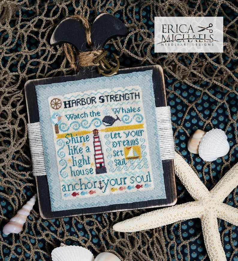 Erica Michaels OCEAN Of WISDOM II Cross Stitch Pattern