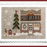 Hometown Holiday – Post Office by Little House Needleworks #21