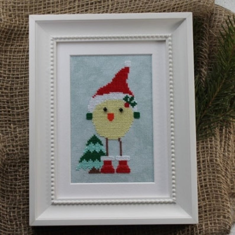 Luhu Stitches SANTA LUHU Cross Stitch Pattern