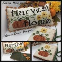 Mani di Donna HARVEST HOME PINCUSHION Cross Stitch Pattern