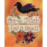 Mill Hill COME STITCH for a SPELL Cross Stitch Kit – Halloween Cross Stitch Kit