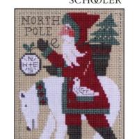 PRAIRIE SCHOOLER SANTA 2017 Cross Stitch Pattern