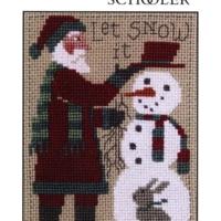 PRAIRIE SCHOOLER SANTA 2018 Cross Stitch Pattern