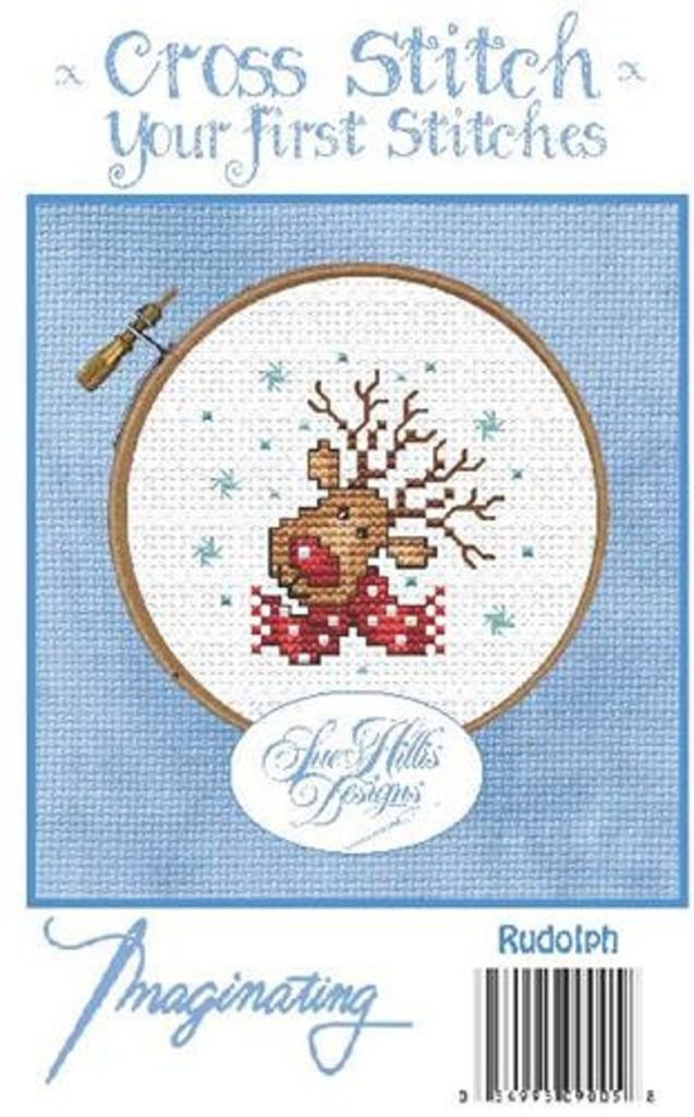 RUDOLPH Cross Stitch Kit by Imaginating