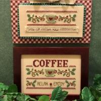 Scissor Tail Designs COFFEE RELAX ENJOY Cross Stitch Pattern