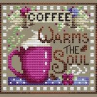 Shannon Christine COFFEE BREAK Cross Stitch Pattern