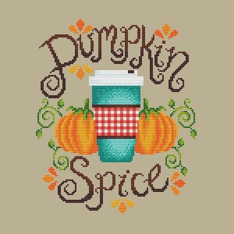 Shannon Christine PUMPKIN SPICE Cross Stitch Pattern