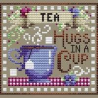 Shannon Christine TEA BREAK Cross Stitch Pattern