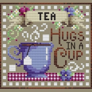Shannon Christine TEA BREAK Cross Stitch Pattern