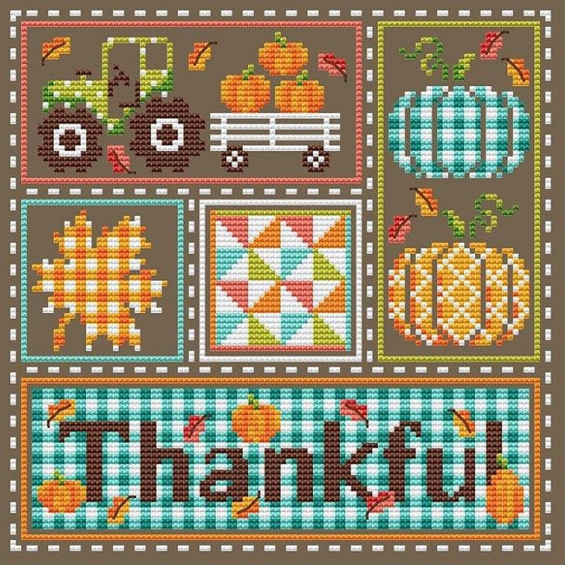 Shannon Christine THANKFUL Cross Stitch Pattern