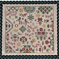 Simple Gifts – O HOLY NIGHT Cross Stitch Pattern by Praiseworthy Stitches