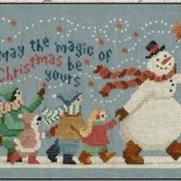 Teresa Kogut THE MAGIC Of CHRISTMAS Cross Stitch Pattern – Christmas Cross Stitch Chart
