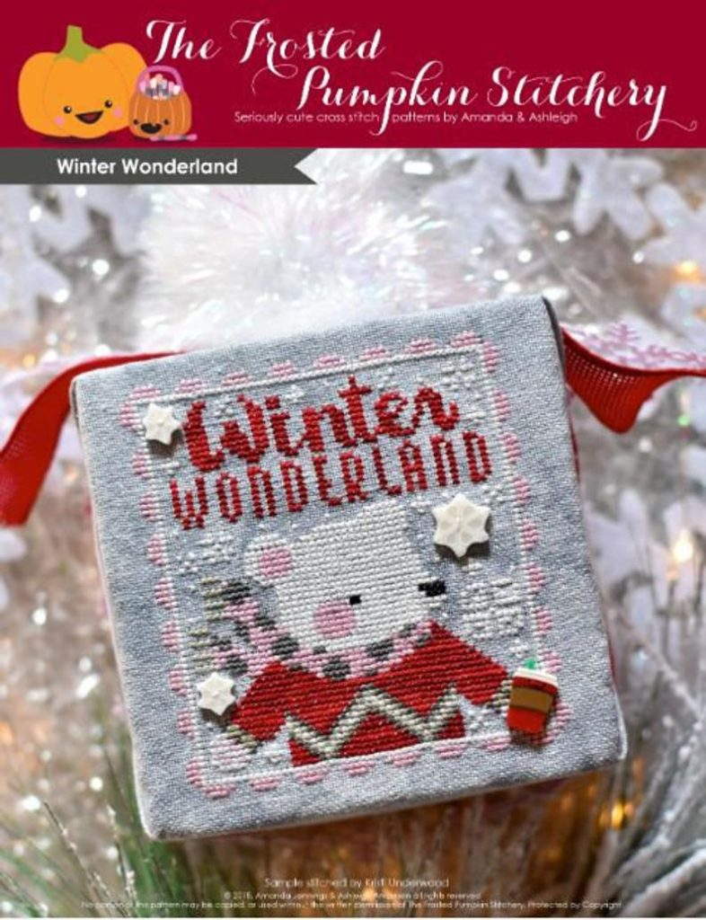 The Frosted Pumpkin Stitchery WINTER WONDERLAND Cross Stitch Pattern