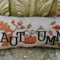 When I THINK OF AUTUMN Cross Stitch Pattern by Puntini Puntini