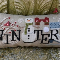 When I THINK OF WINTER Cross Stitch Pattern by Puntini Puntini