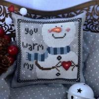 YOU WARM My HEART Cross Stitch Pattern by Puntini Puntini