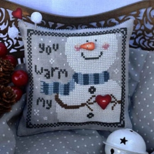 YOU WARM My HEART Cross Stitch Pattern by Puntini Puntini
