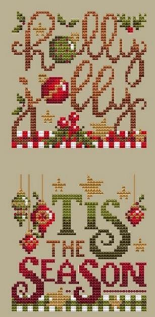 Shannon Christine CHRISTMAS CLUB 2 Cross Stitch Pattern