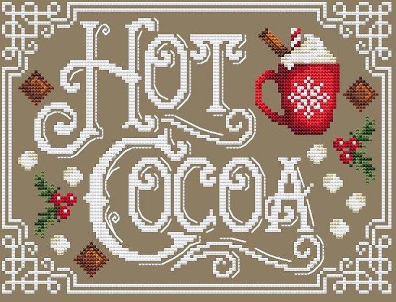 Shannon Christine HOT COCOA Cross Stitch Pattern