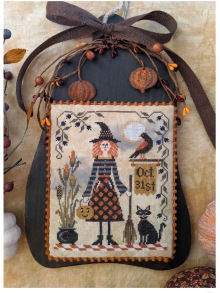 All Hallows Eve Cross Stitch Pattern by Lila's Studio
