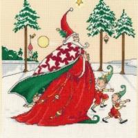 CHRISTMAS WIZARD Cross Stitch Pattern Imaginating