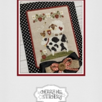 Cherry Hill Stitchery Cross Stitch Pattern SUMMER BARNYARD Stack – PDF Cross Stitch Pattern