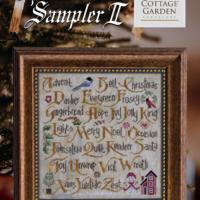 Cottage Garden Samplings CHRISTMAS SAMPLER II Cross Stitch Pattern