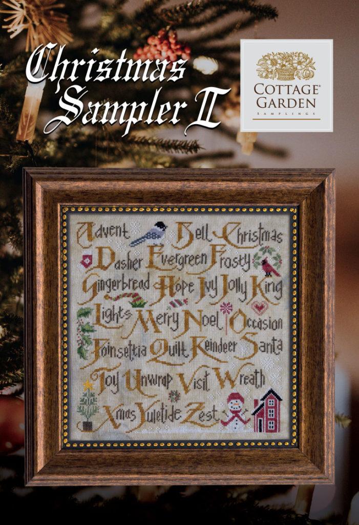 Christmas Sampler II by Cottage Garden Samplings