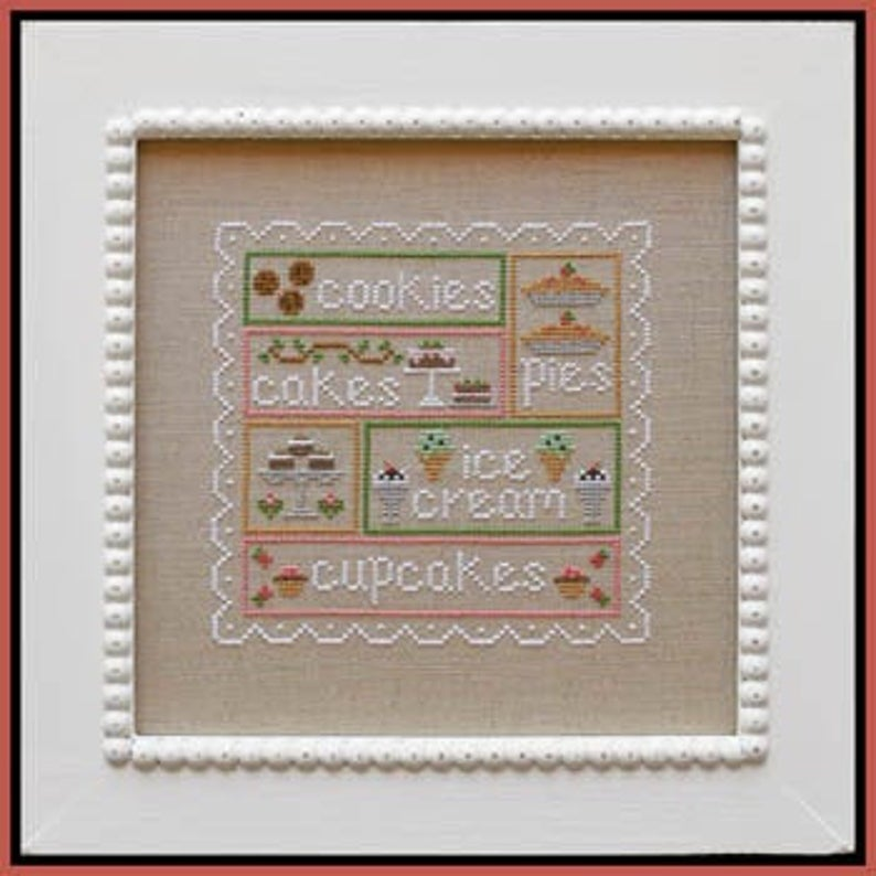 Country Cottage Needleworks SWEET SAMPLER Cross Stitch Pattern