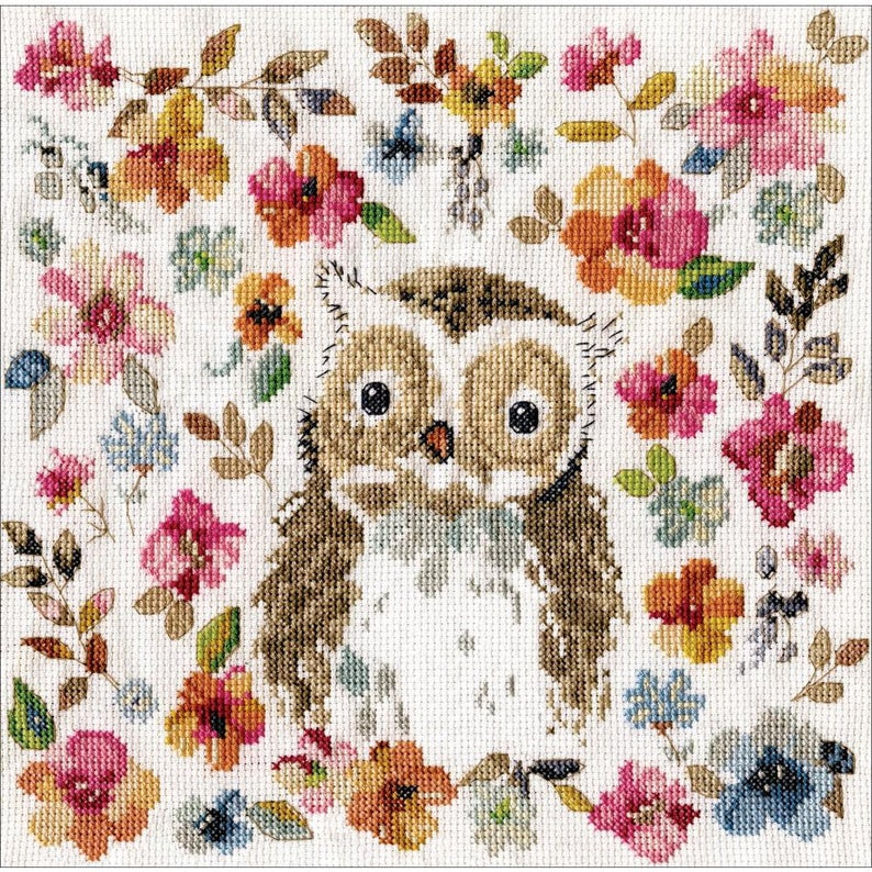 Design Works OWL Cross Stitch Kit