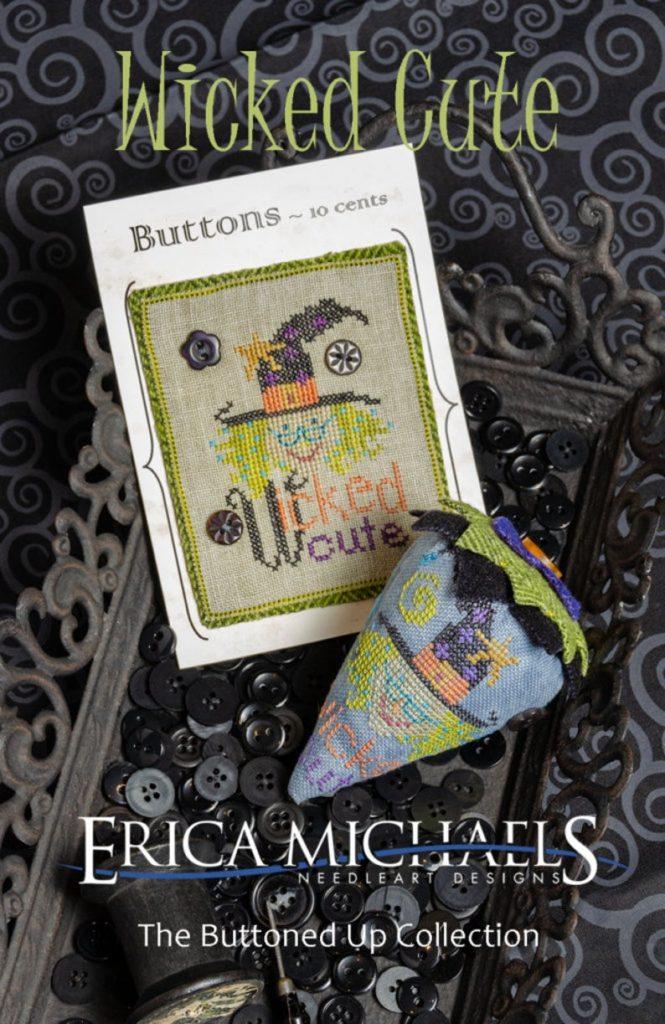 Erica Michaels WICKED CUTE Cross Stitch Pattern
