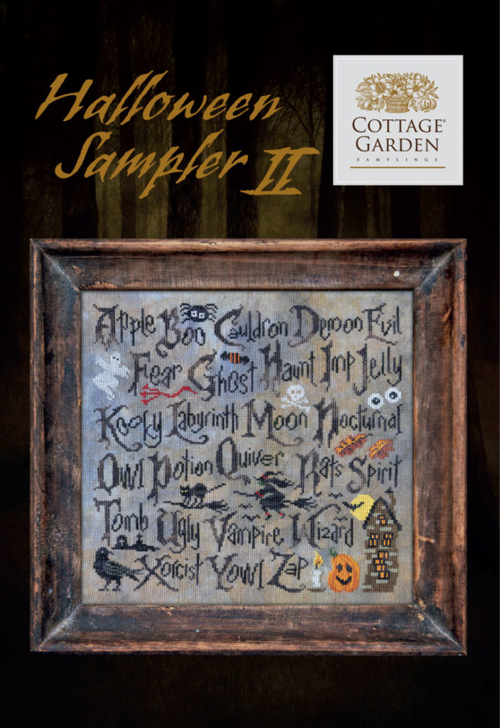 Halloween Sampler II by Cottage Garden Samplings