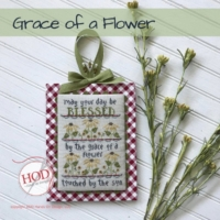 Hands on Design GRACE Of A FLOWER Cross Stitch Pattern