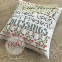 Hands on Design PRESENT BLESSINGS Cross Stitch Pattern