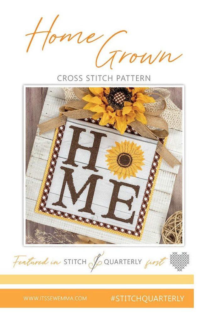 It's Sew Emma HOME GROWN Cross Stitch Pattern