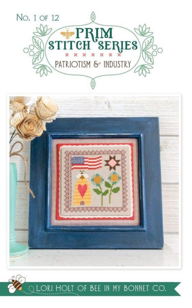 It's Sew Emma Patriotism & Industry #1 PRIM STITCH Series Pattern