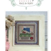 It's Sew Emma Peace & Plenty #3 PRIM STITCH Series Pattern