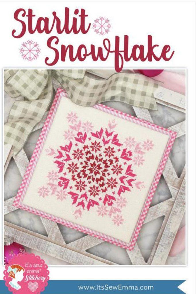 It's Sew Emma STARLIT SNOWFLAKE Cross Stitch Pattern