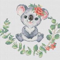 Les Petites Croix De Lucie KOALA Cross Stitch Pattern