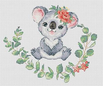 Koala by Les Petites Croix De Lucie
