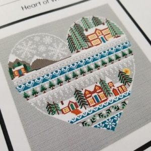Little Dove Designs HEART OF Winter Cross Stitch Pattern
